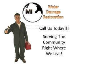 Detroit MI Water Damage Restoration and Mold Remediation Service